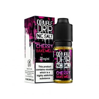 Double Drip Nic Salt 10ml 10mg/20mg (Cherry Bakewell)