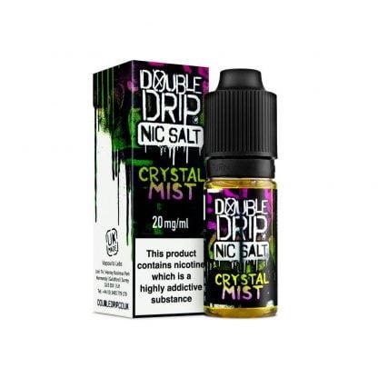 Double Drip Nic Salt 10ml 10mg/20mg (Crystal Mist)
