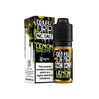 Double Drip Nic Salt 10ml 10mg/20mg (Lemon Sherbet)