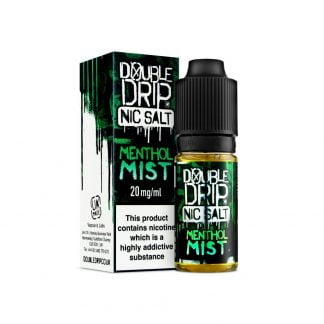 Double Drip Nic Salt 10ml 10mg/20mg (Menthol Mist)