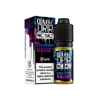Double Drip Nic Salt 10ml 10mg/20mg (Raspberry Sherbet)