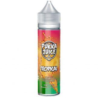 Pukka Juice E Liquid Vape Juice 50ml (Tropical, 50ml)