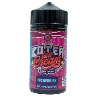 Killer Ice Cream E-Liquid 160ml - Mixberries