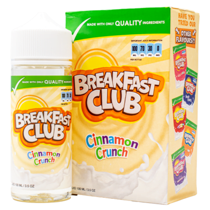 Breakfast Club Cinnamon Crunch