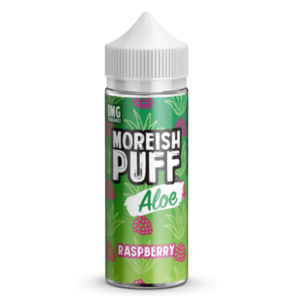 moreish puff raspberry